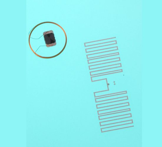 Prelaminated inlays Combi UHF