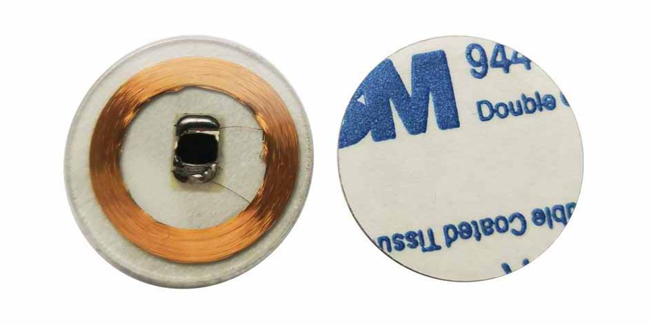 RFID Epoxy Resin Crystal Clear Tags